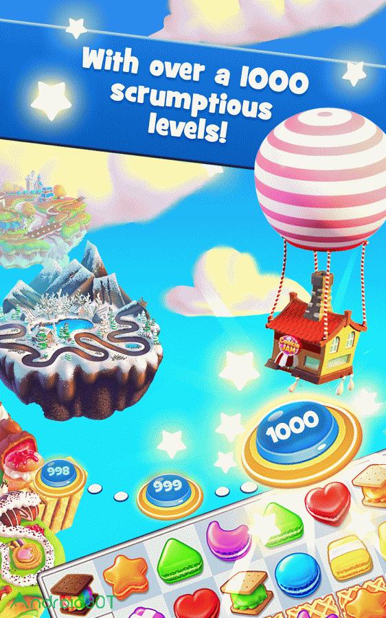 دانلود Cookie Jam v11.70.115 – بازی شکلات های همرنگ اندروید