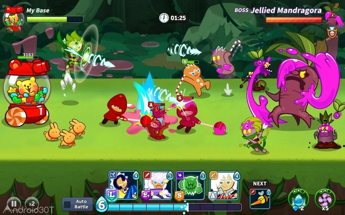 دانلود Cookie Wars v1.3.6 – بازی رقابتی جالب برای اندروید