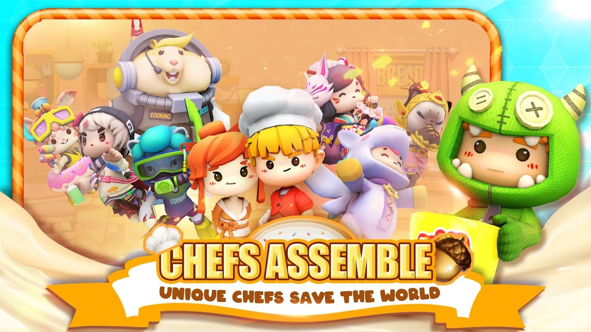 دانلود Cooking Battle! 0.9.4.3 – بازی اکشن نبرد آشپزی اندروید