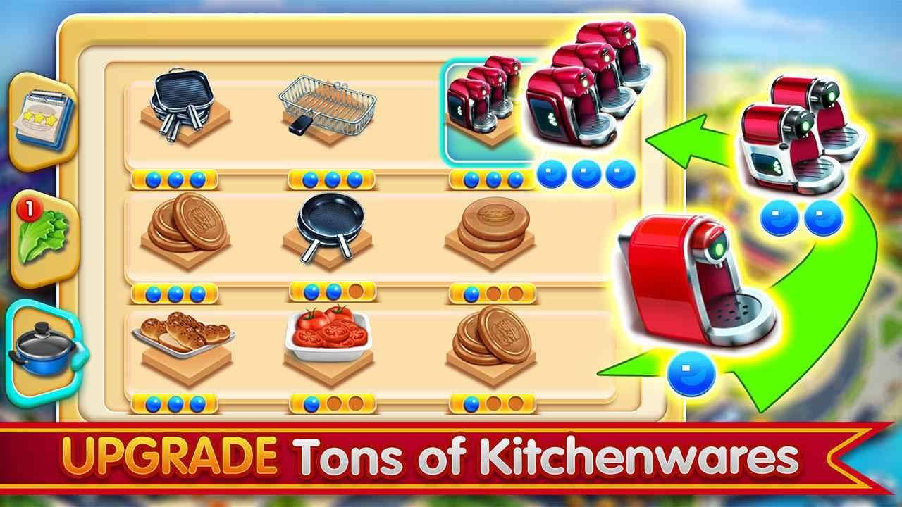 دانلود Cooking City 1.73.5017 – بازی سرگرم کننده شهر آشپزی اندروید