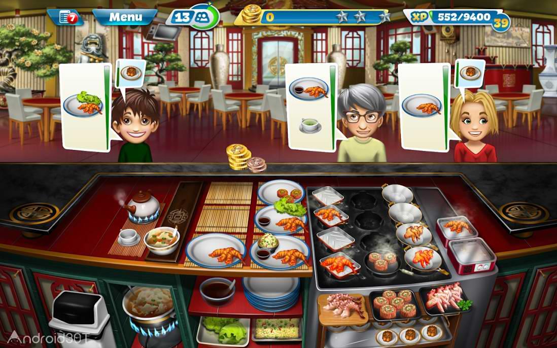 دانلود Cooking Fever 8.1.0 – بازی شبیه ساز آشپزی اندروید