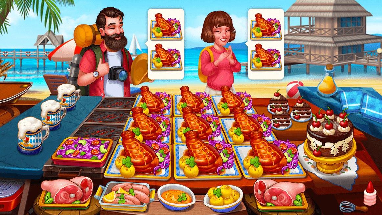 دانلود Cooking Hot 1.0.60 – بازی سرآشپز حرفه ای اندروید