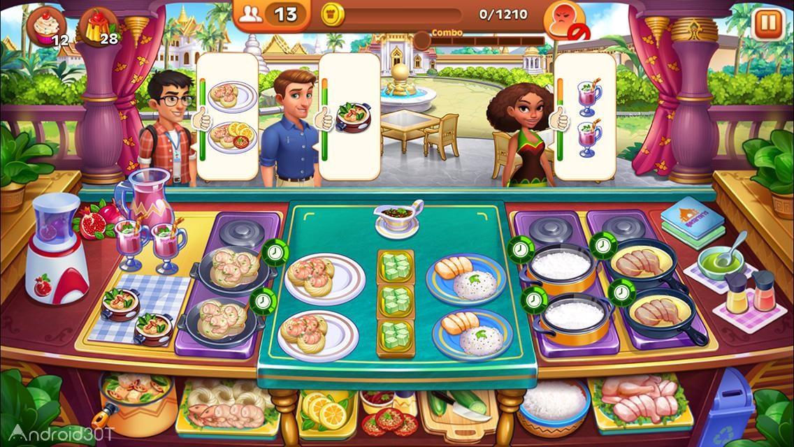 دانلود Cooking Madness 1.8.7 – بازی پخت و پز اندروید