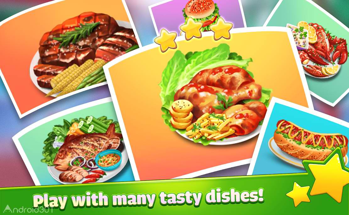 دانلود Crazy Cooking: Games Craze Fever 2.0.2 – بازی آشپزی جدید اندروید