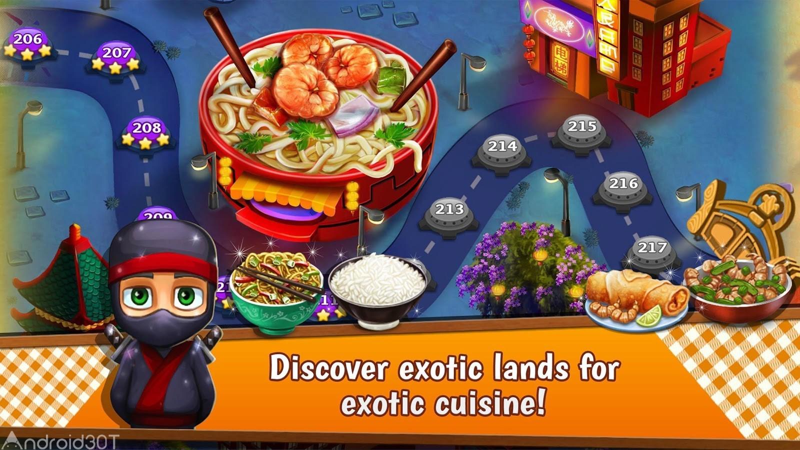 دانلود Crazy Kitchen 6.7.1 – بازی جدید و سرگرم کننده پازل اندروید