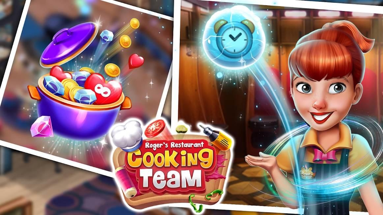 دانلود Cooking Team – Chef's Roger v6.4 – بازی تیم آشپزی راجر اندروید