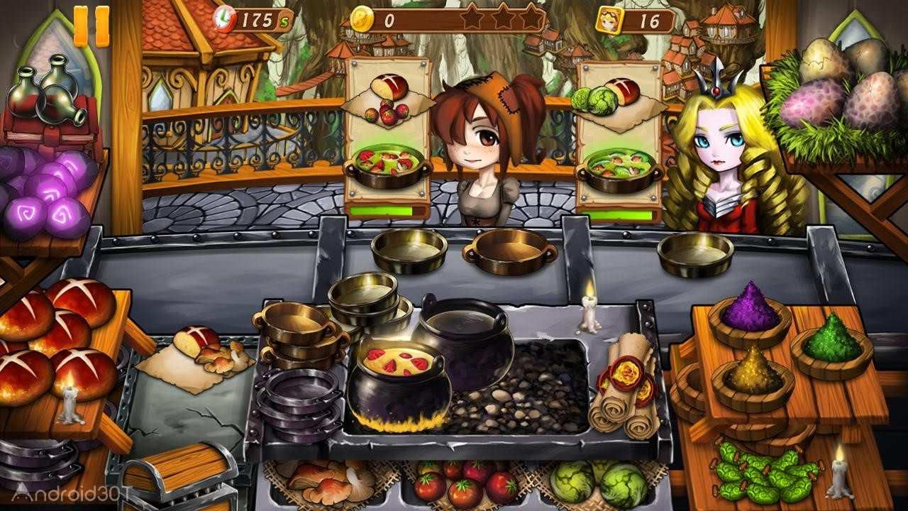 دانلود Cooking Witch 3.2.3 – بازی جادوگر آشپز اندروید