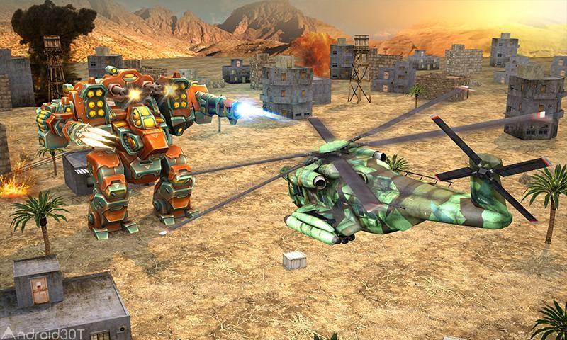 دانلود Copter vs Aliens 1.5 – بازی شبیه ساز هلی کوپتر مقابل دشمنان