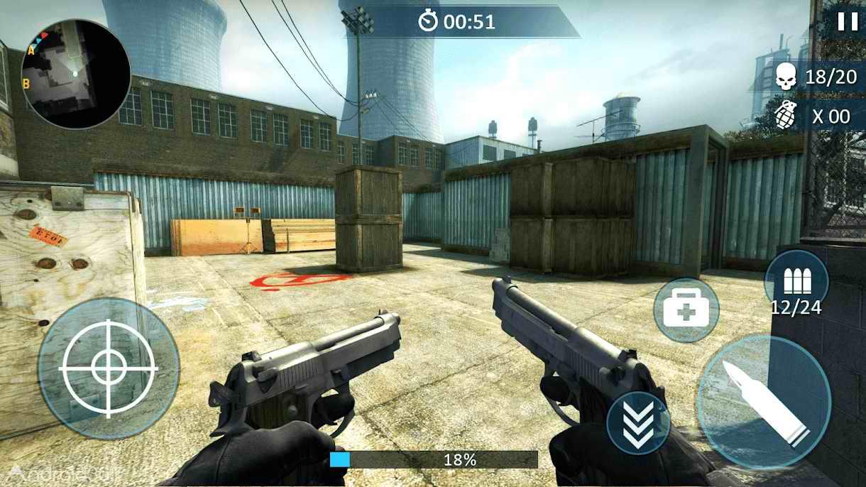 دانلود Counter Fort Invader: CS Shooting 1.1.0 – بازی اکشن مبارزه با مهاجم اندروید