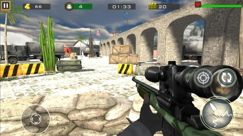 دانلود Counter Terrorist – Gun Shooting Game v64.1 – بازی مبارزه با تروریست اندروید