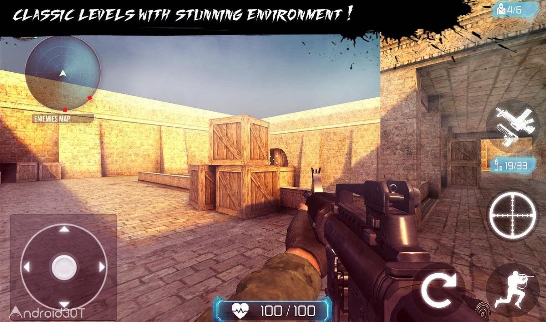دانلود Counter Terrorist 2 – Gun Strike 1.05 – بازی اکشن کانتر تروریست 2 اندروید