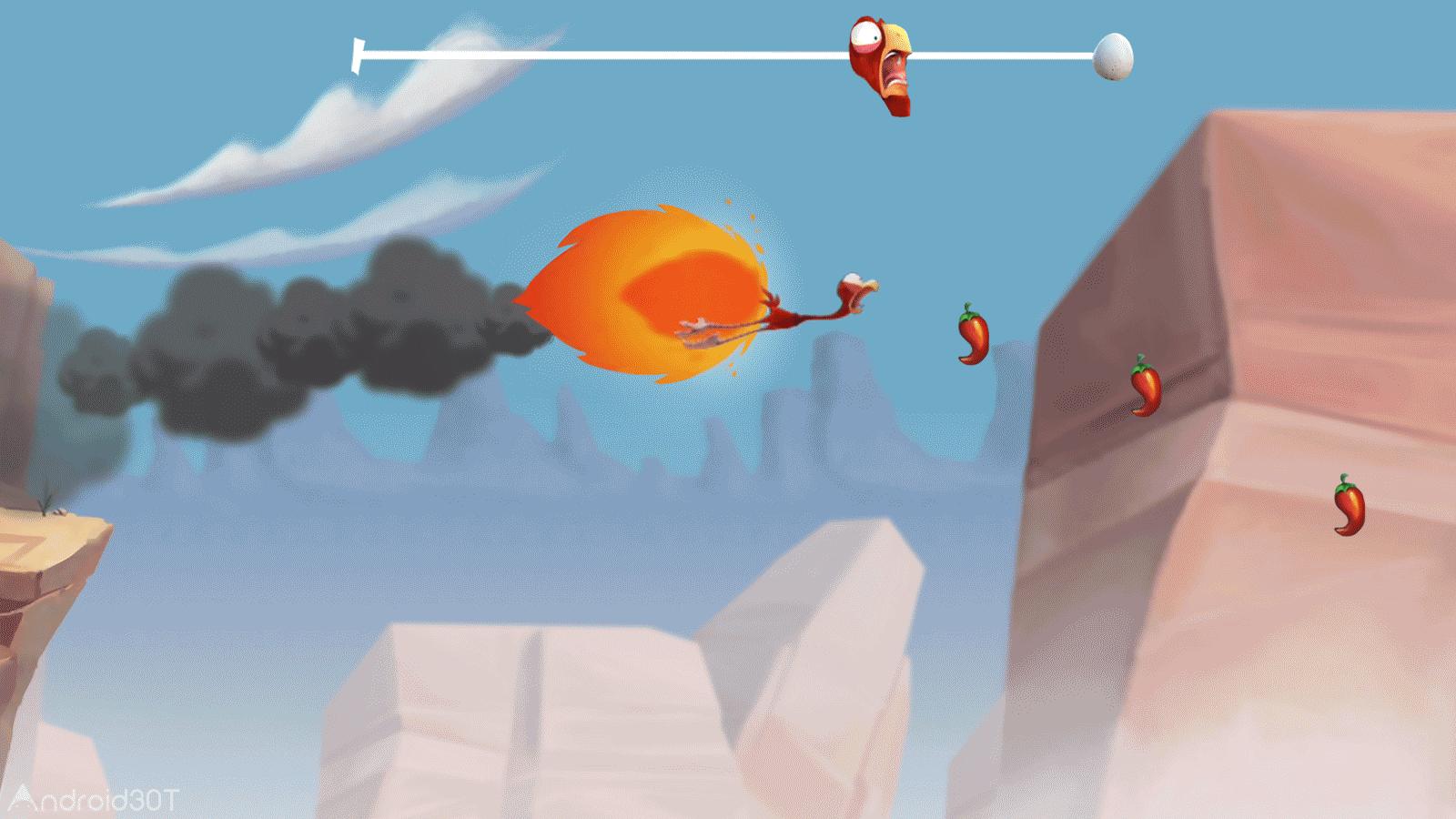 Cracked Rush 1.0.1 – بازی مراقبت پدر از جوجه شتر مرغ اندروید