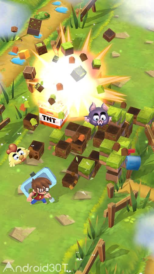 دانلود 1.0.8 Craft Away! – Idle Mining Game – بازی معدن گم شده اندروید