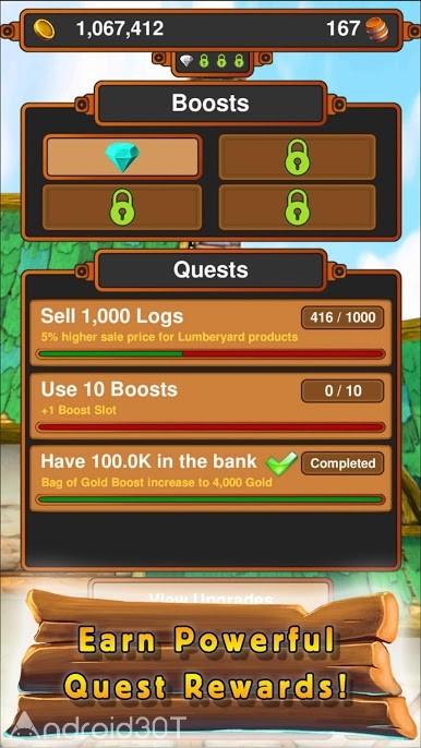 دانلود Crafting Kingdom – Strategic Idle Tycoon 2.03 – بازی استراتژیکی خلق پادشاهی برای اندروید