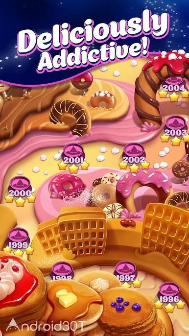 دانلود Crafty Candy – Match 3 Adventure 1.30.1 – بازی حذف آب نبات ها اندروید