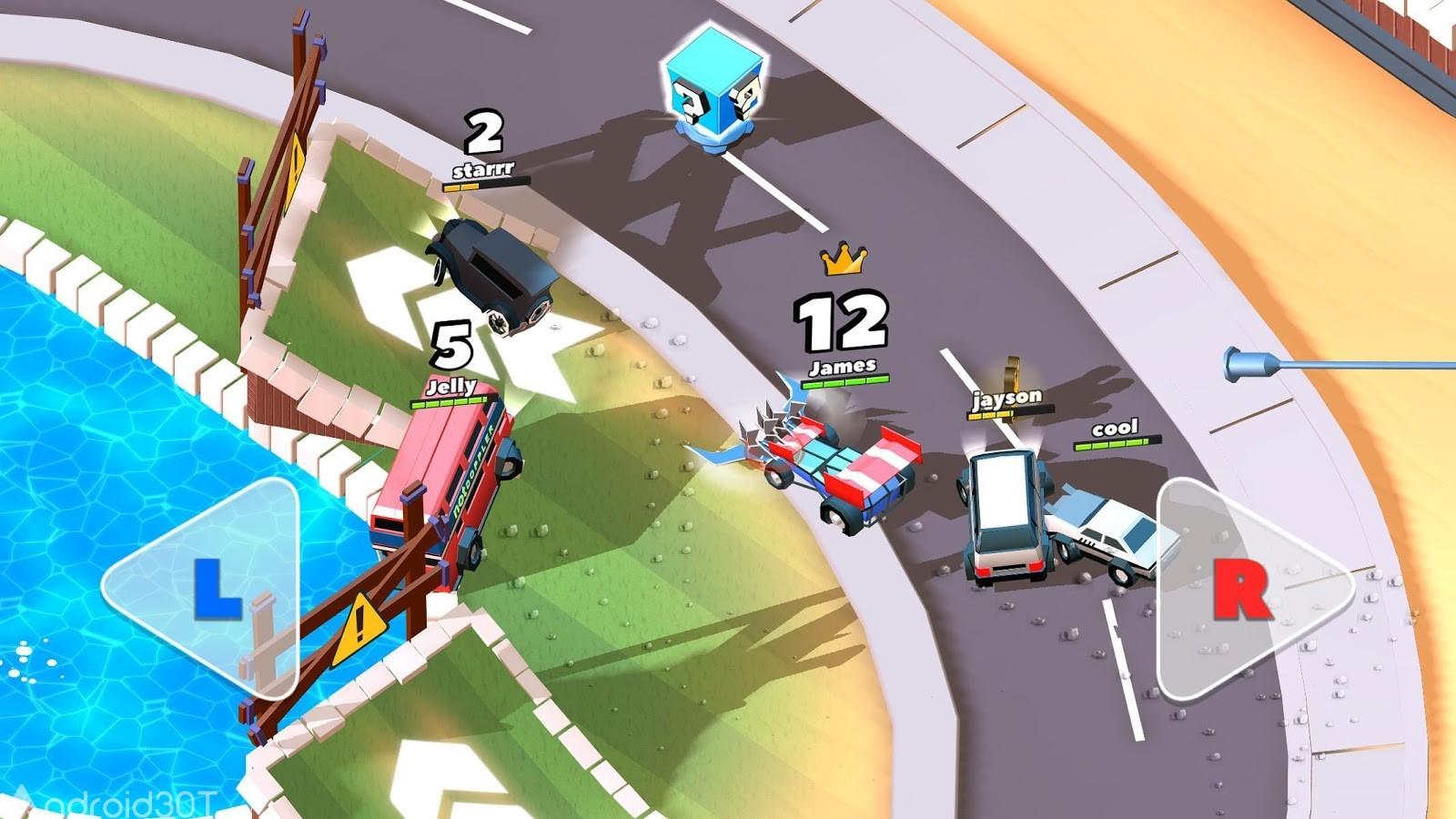 دانلود Crash of Cars 1.4.20 – بازی تصادف ماشین ها اندروید