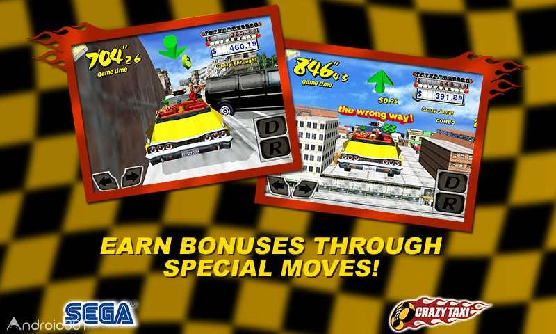 دانلود Crazy Taxi Gazillionaire 18070601 – بازی تاکسی دیوانه اندروید
