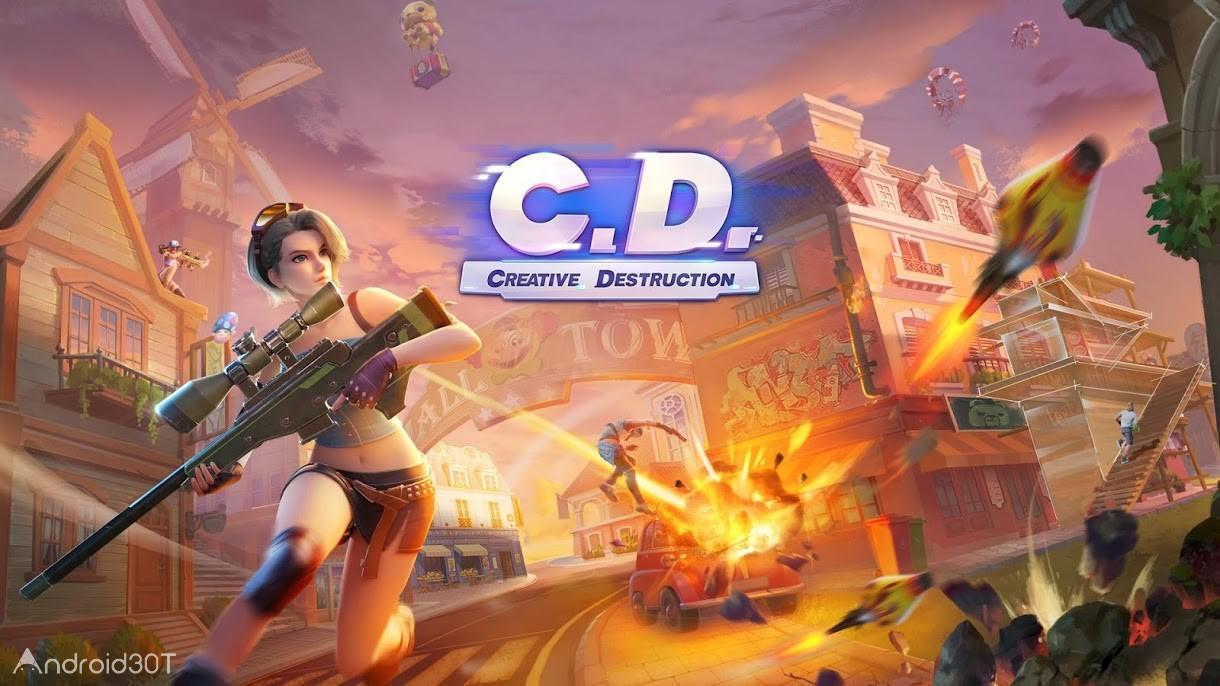 دانلود Creative Destruction 2.0.4921 – بازی اکشن تخریب خلاقانه اندروید