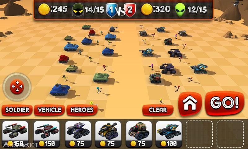 دانلود Creepy Aliens Battle Simulator 3D v1.3 – بازی نبرد با موجودات فضایی اندروید