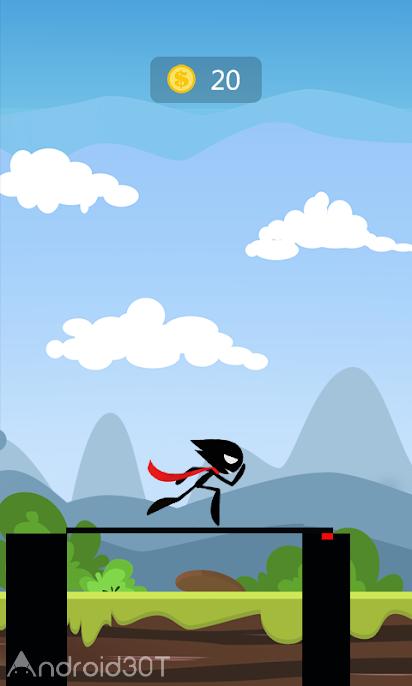 دانلود 1.2 Crossing Cliff – بازی سرگرم کننده بدون دیتای اندروید