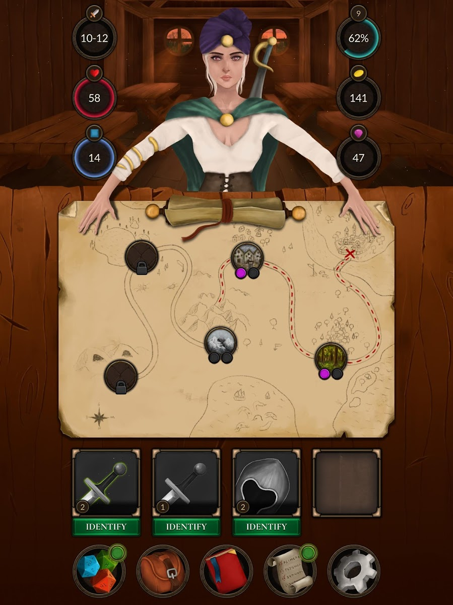دانلود Crossroads: Roguelike RPG Dungeon Crawler 1.04 – بازی نقش آفرینی سیاهچال اندروید