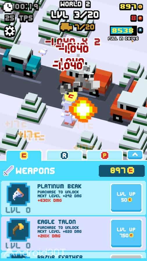 دانلود Crossy Road Rage 0.3.2 – بازی عبور از جاده خطرناک اندروید