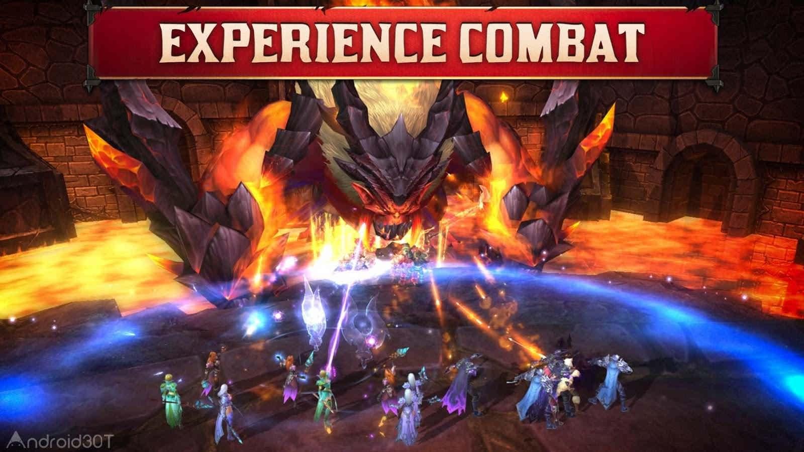 دانلود Crusaders of Light 6.0.4 – بازی اکشن جنگ های صلیبی اندروید