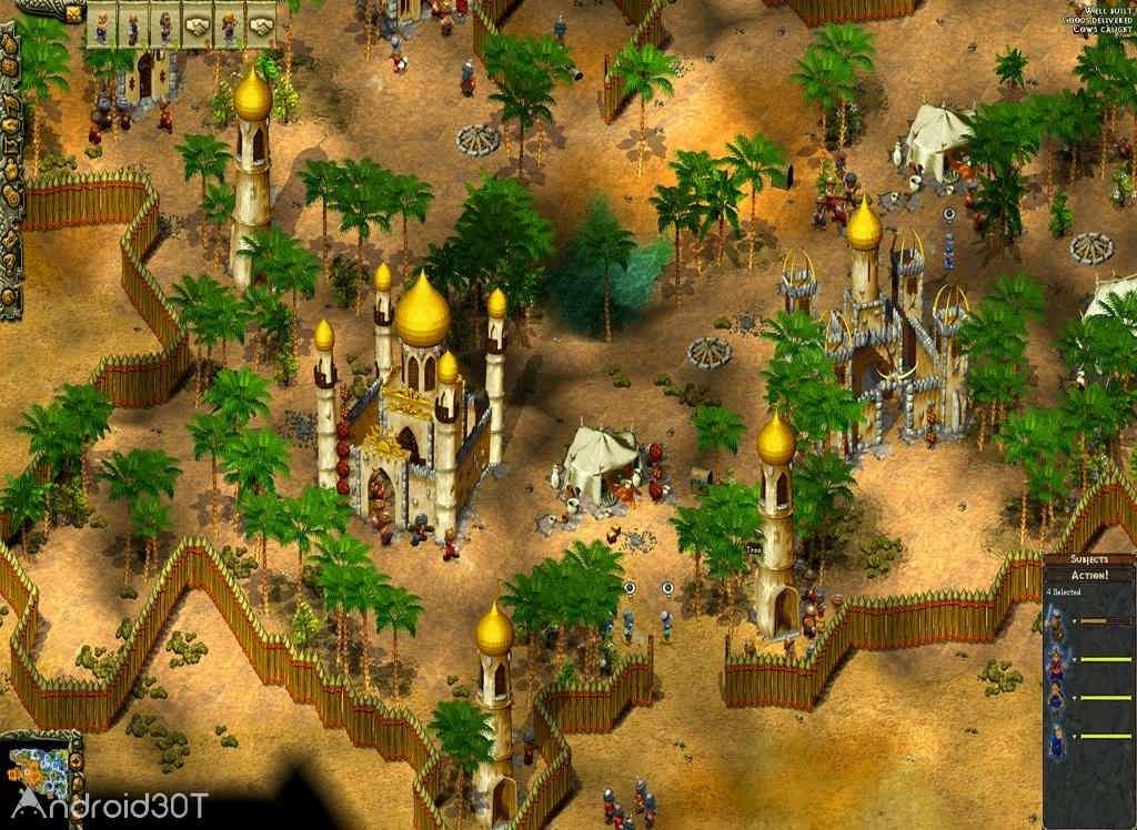 دانلود Cultures: 8th Wonder of the World 1.0 – بازی عجایب هشتگانه جهان اندروید