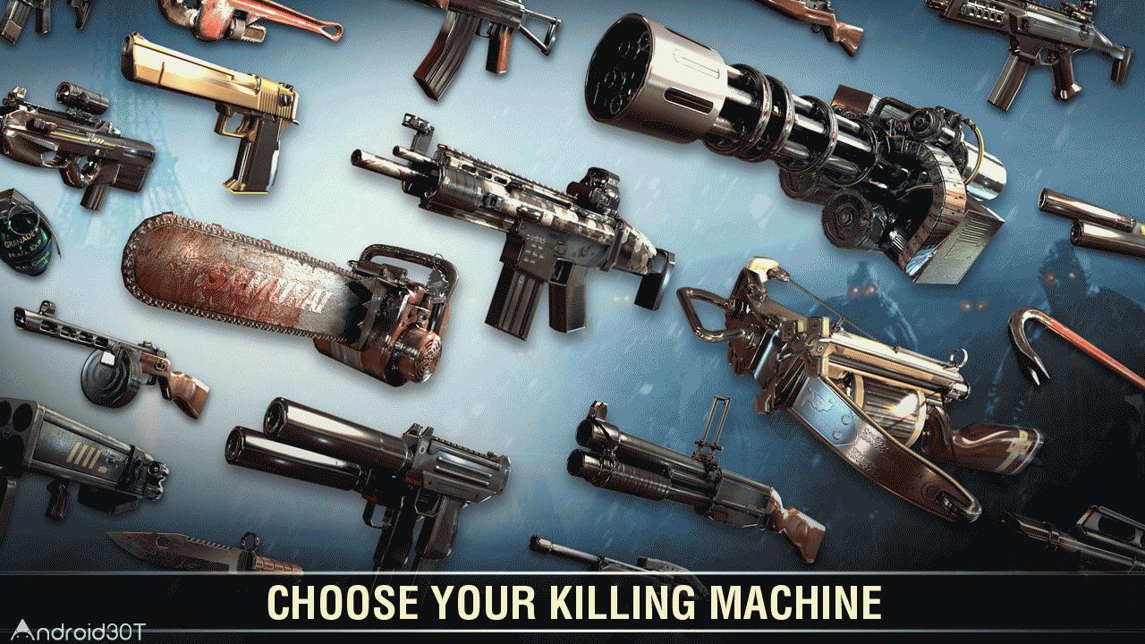 دانلود Dead Trigger 2 1.7.06 – بازی ماشه کشنده 2 اندروید
