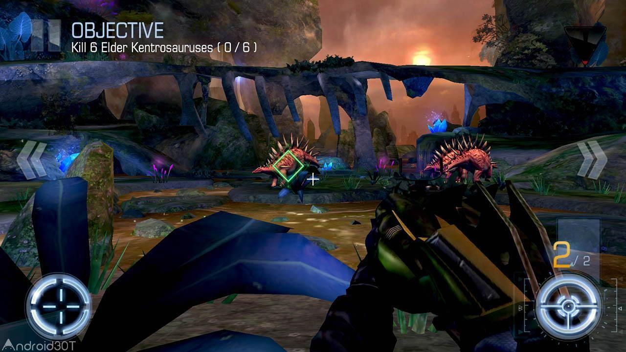 DINO HUNTER: DEADLY SHORES 3.1.1 – بازی فوق العاده شکارچی دایناسور اندروید!