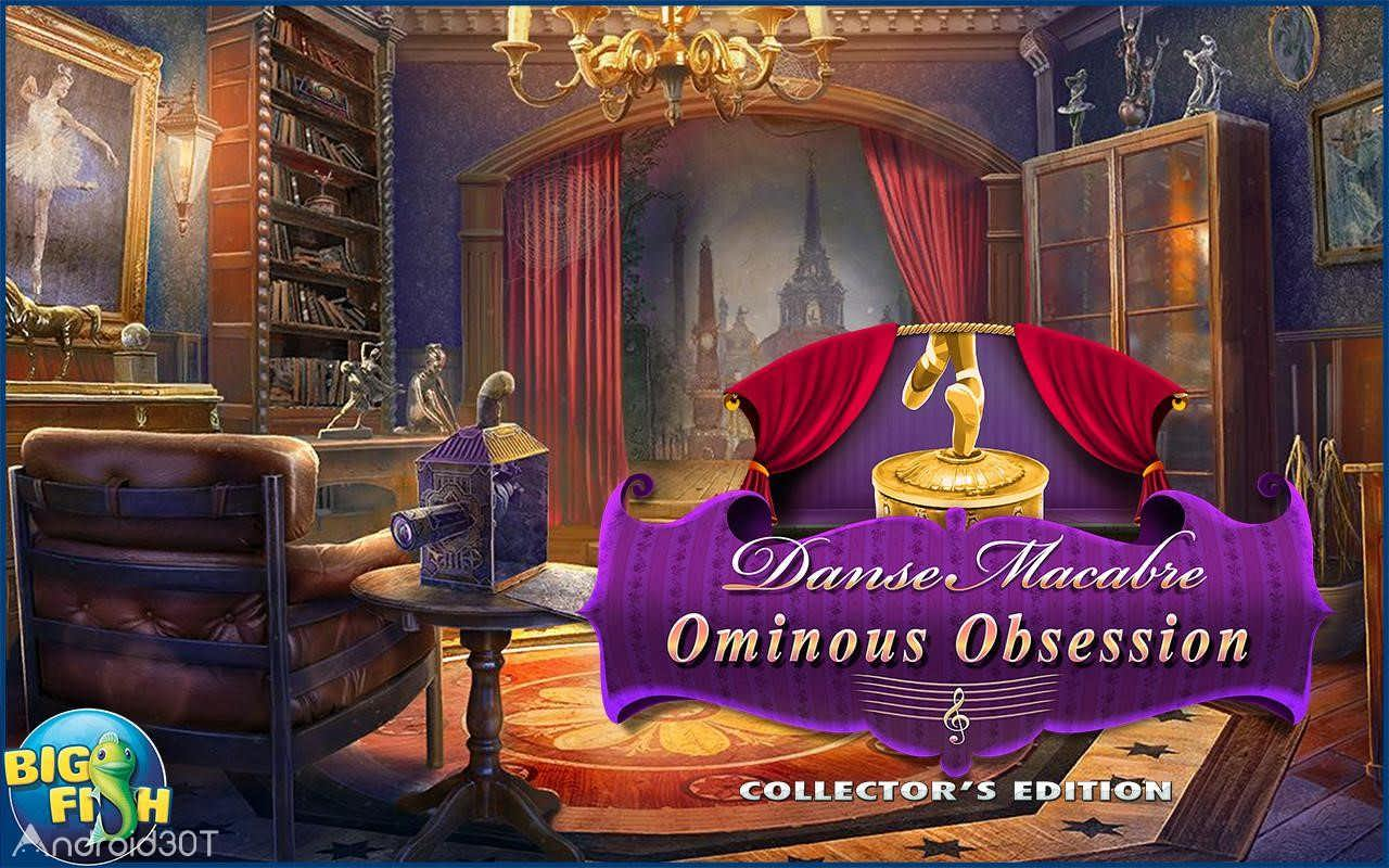 دانلود Danse Macabre: Ominous Obsession (Full) 1.0 – بازی وسوسه ی شوم اندروید