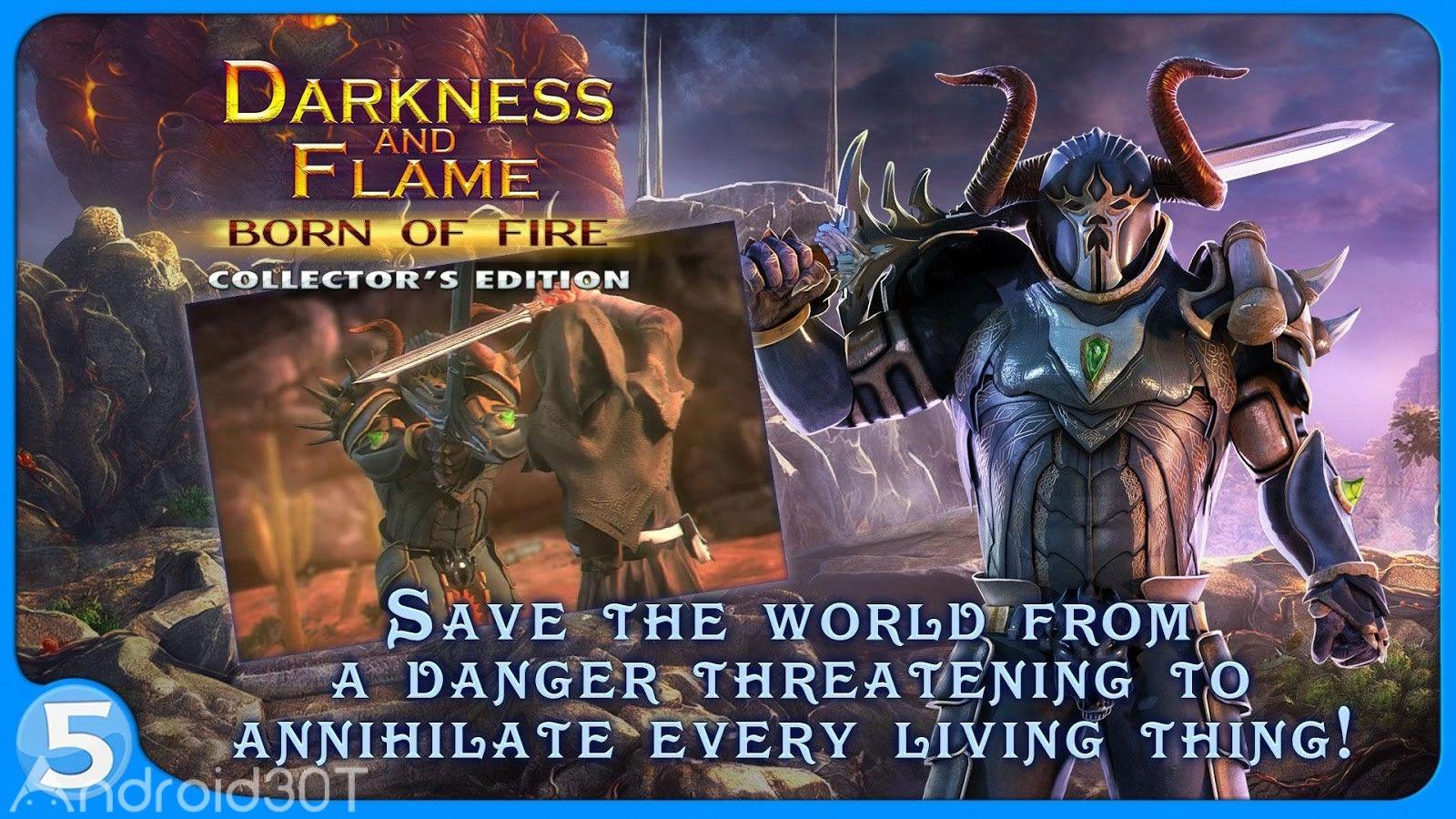 دانلود Darkness and Flame (Full) 1.0.10 – بازی فکری تاریکی و شعله اندروید