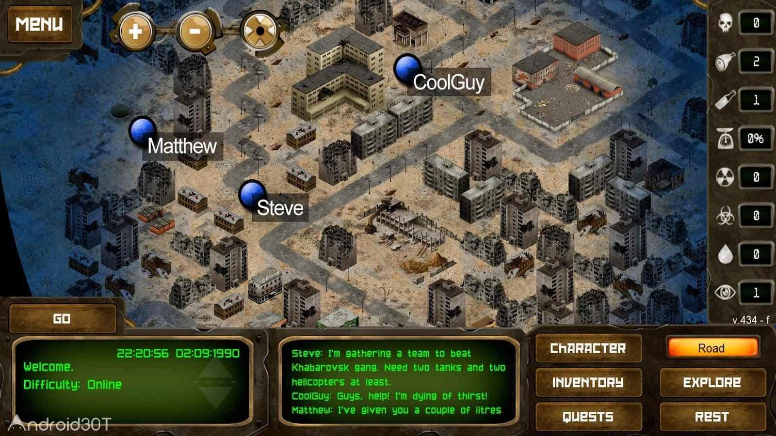 دانلود Day R Survival Premium 1.670 – بازی نقش آفرینی روز بقا اندروید