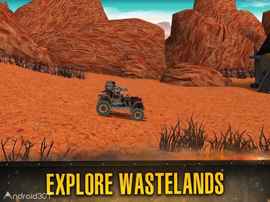 دانلود Dead Paradise: The Road Warrior 1.7 – بازی اکشن جنگجوی جاده اندروید