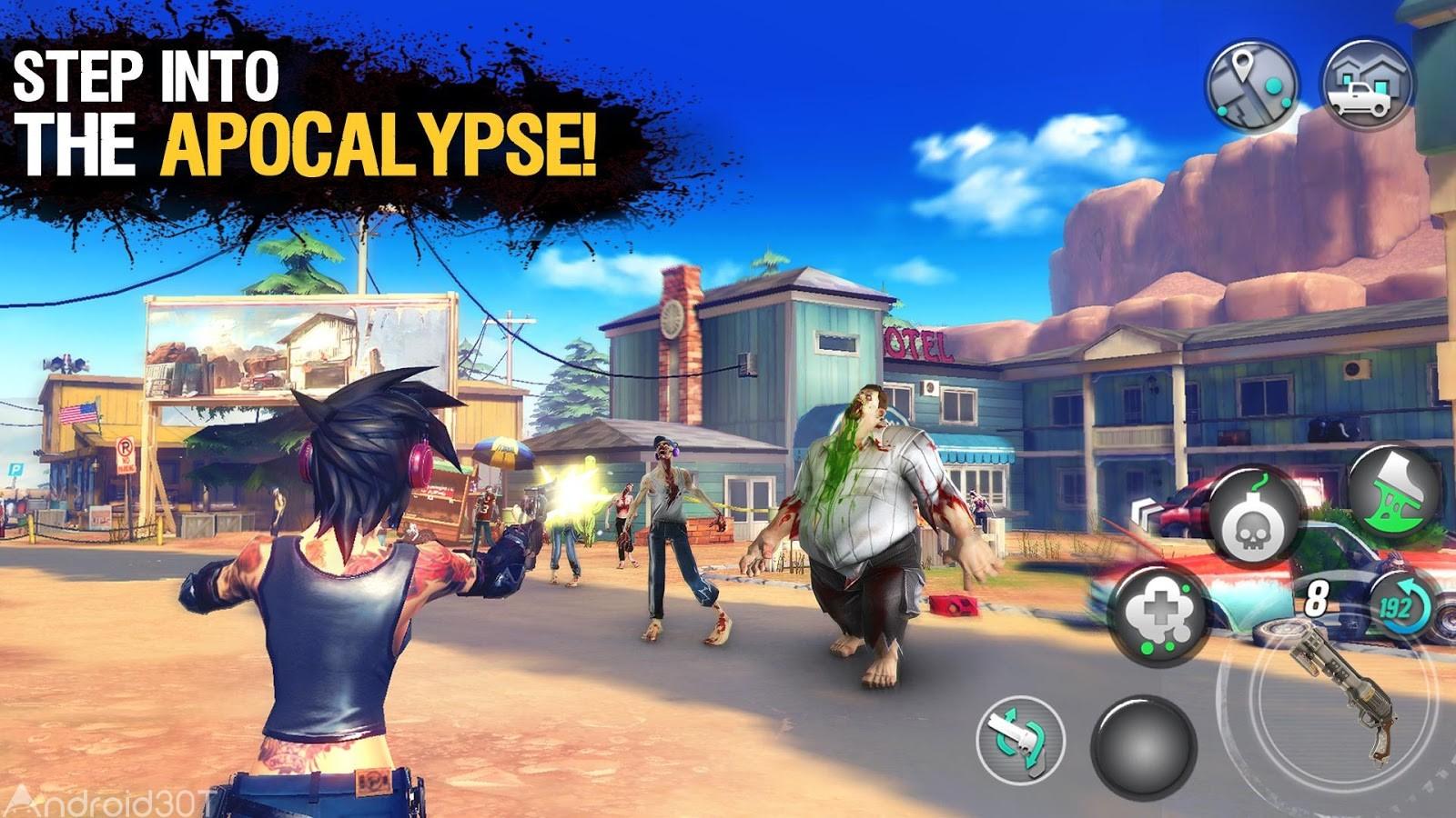 دانلود Dead Rivals – Zombie MMO 1.1.0e – بازی نقش آفرینی رقیبان مرده اندروید