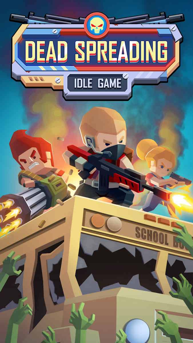 دانلود Dead Spreading:Idle Game 0.46 – بازی استراتژیکی هجوم زامبی ها اندروید
