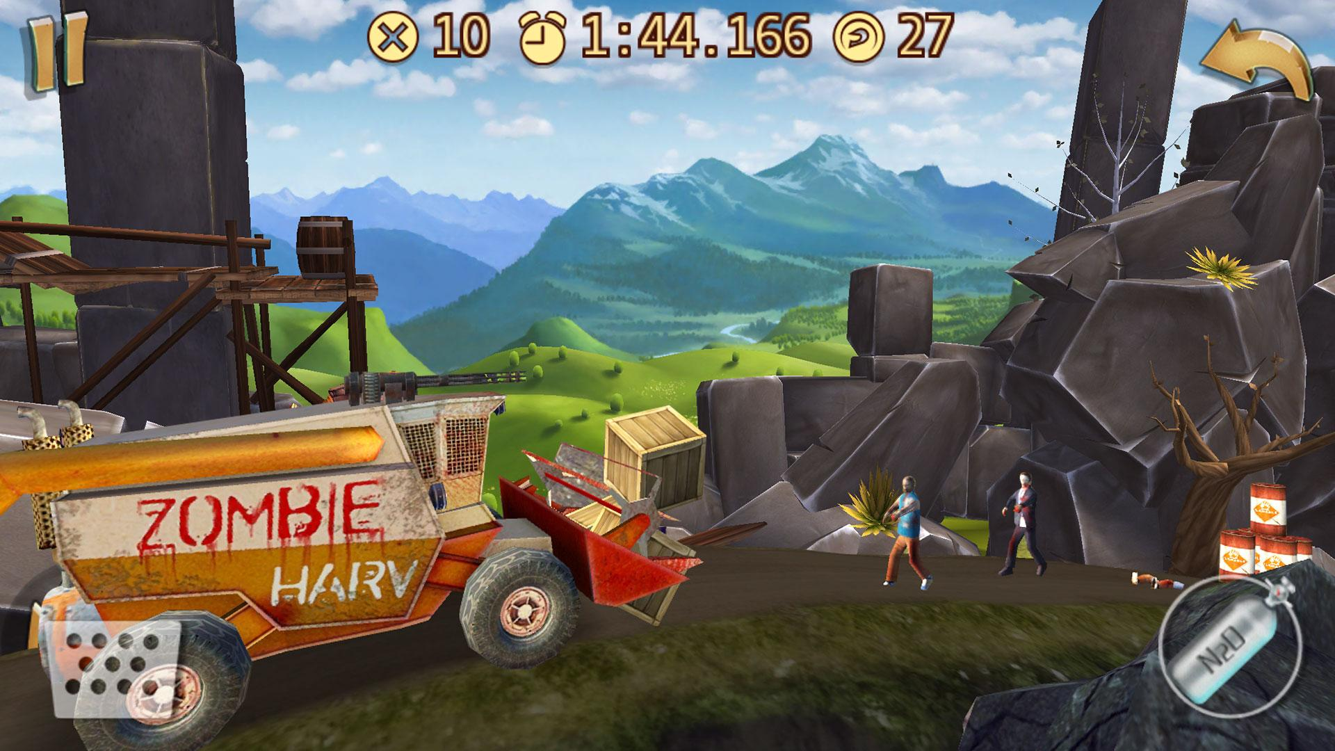 دانلود Death Climb Racing-Popular walking ZOMBIE road war 1.1.2 – بازی اکشن بدون دیتای اندروید