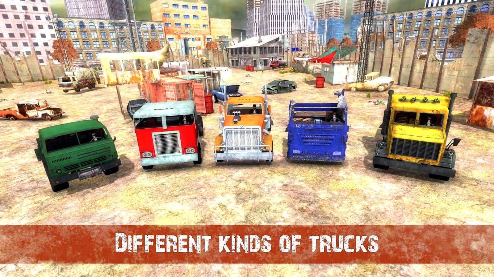 دانلود Death Truck Hero – Apocalypse Road 1.11 – بازی اکشن جاده آخرالزمانی اندروید