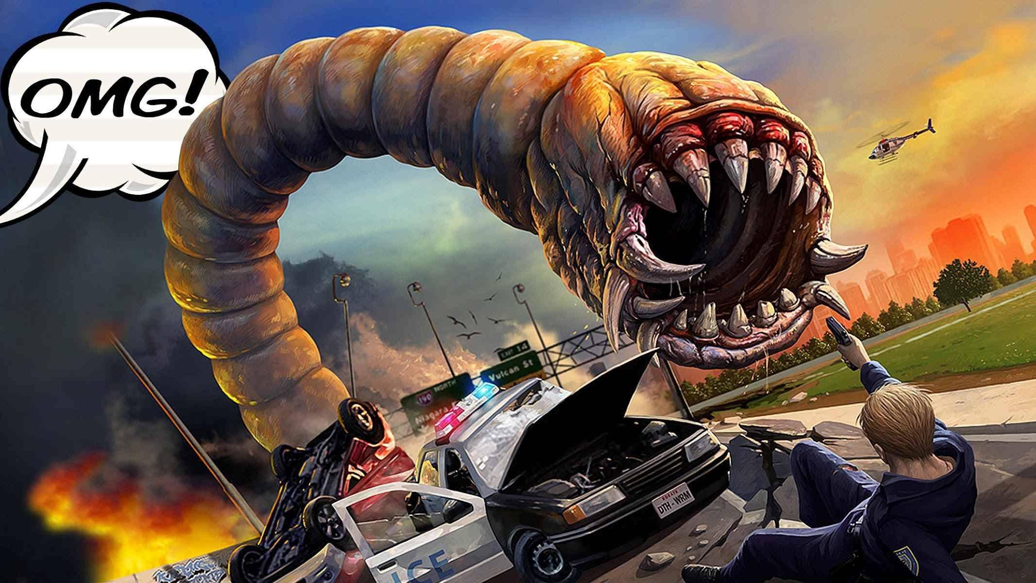 دانلود Death Worm™ 1.65 – بازی رقابتی مار اندروید