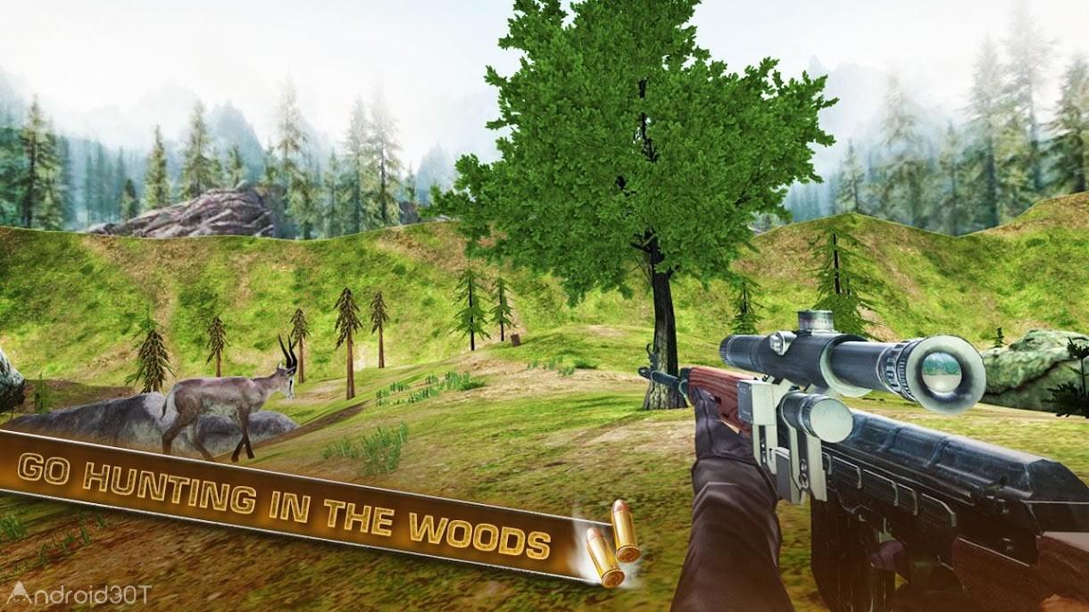 دانلود ۱٫۳ Deer Hunting 2018 – بازی اکشن شکار گوزن برای اندروید
