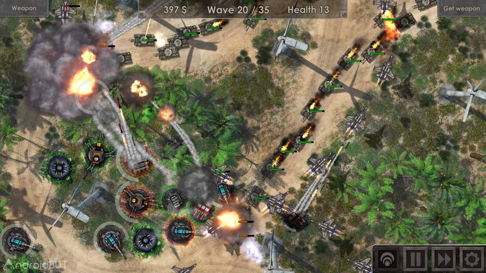 دانلود Defense Zone 3 Ultra HD 1.3.6 – بازی استراتژیک منطقه دفاعی 3 اندروید