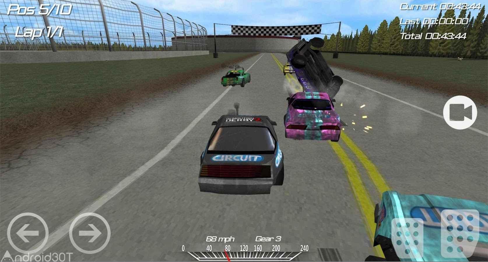 دانلود Demolition Derby 2 v1.3.60 – بازی جنگ اتومبیل با رقبا ۲ اندروید