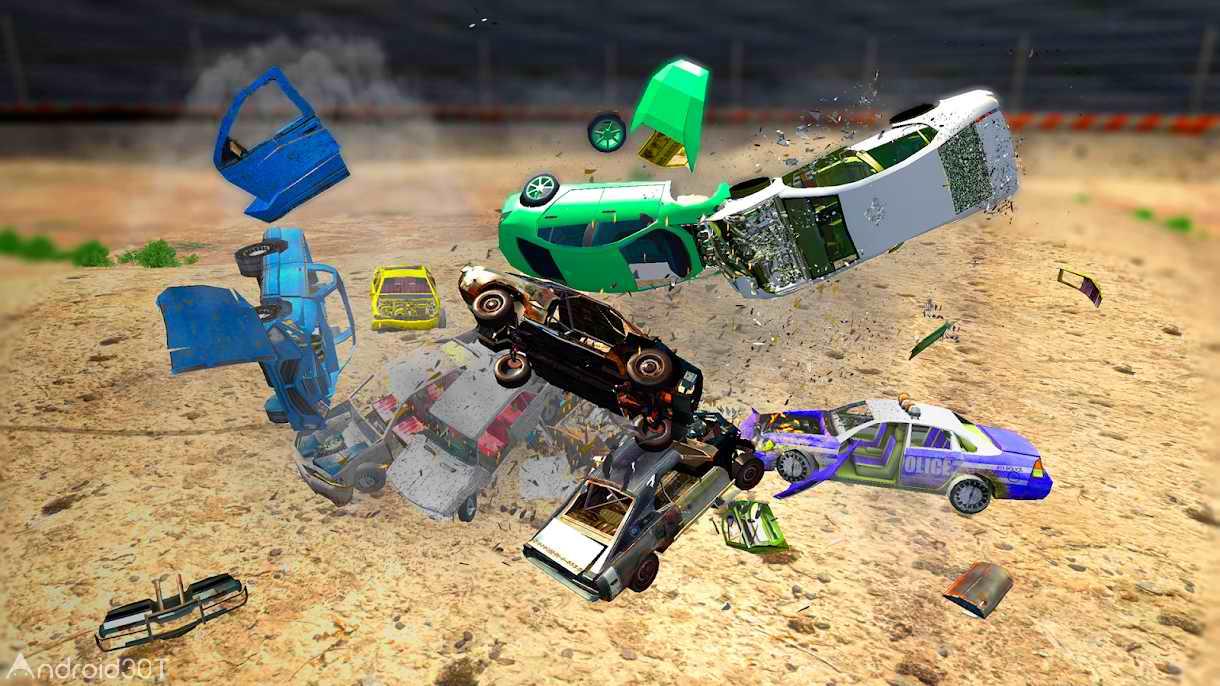 دانلود Derby Destruction Simulator 3.0.6 – بازی مسابقه ای تخریب ماشین ها اندروید