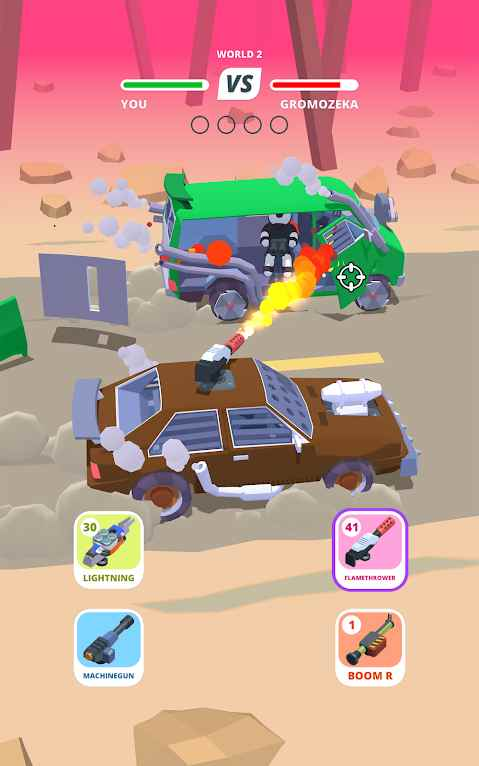 دانلود Desert Riders 1.2.4 – بازی اکشن رانندگان صحرا اندروید