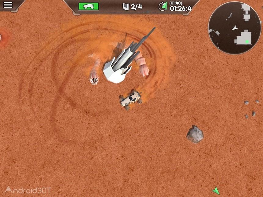 دانلود Desert Worms v1.64 – بازی مسابقه ای کرمهای کویر اندروید