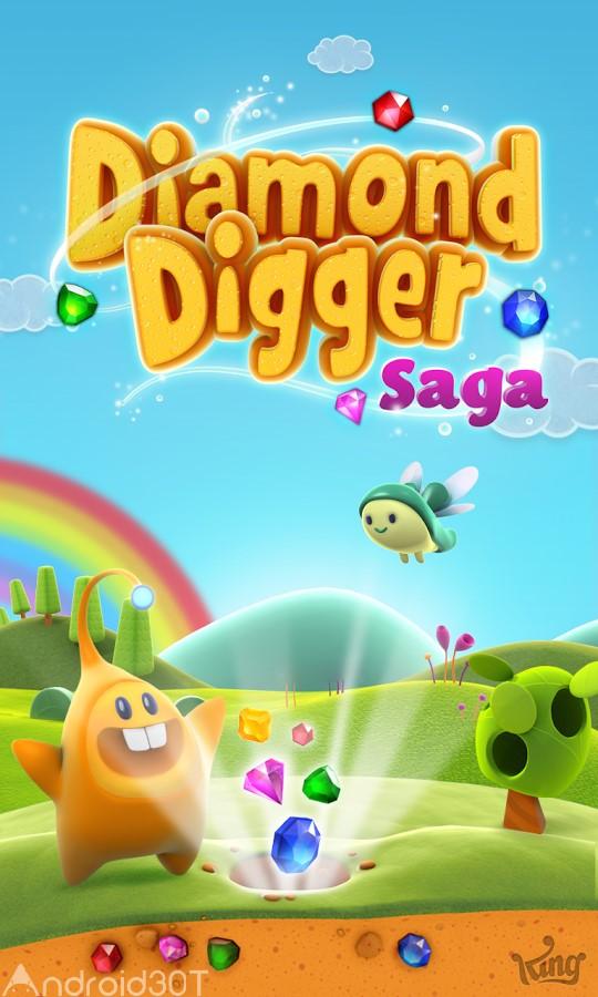 دانلود Diamond Digger Saga 2.52.1.2 – بازی سرگرم کننده در جستجوی الماس اندروید
