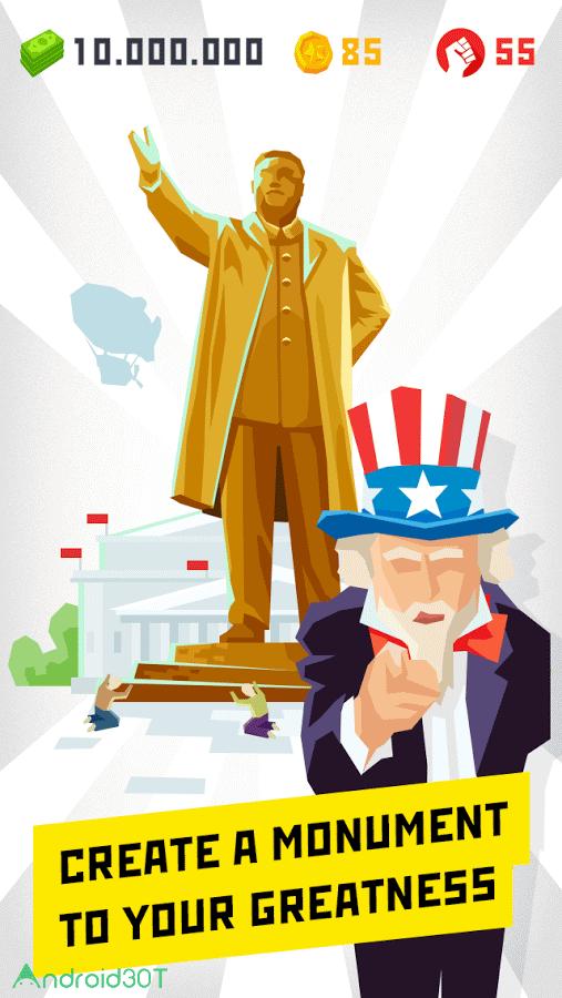 دانلود Dictator: Emergence 1.0.8 – بازی استراتژیک دیکتاتور اندروید