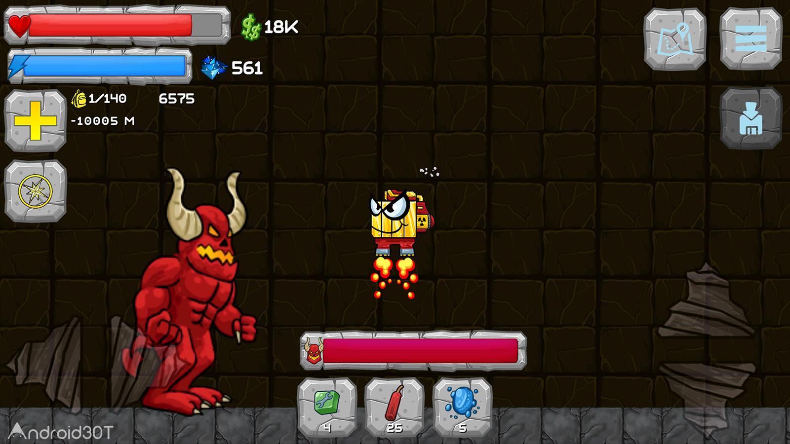دانلود Digger Machine find minerals 2.7.6 – بازی ماشین حفاری اندروید