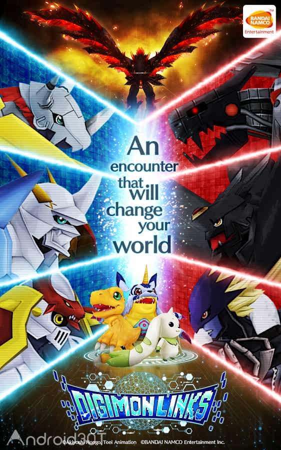 دانلود 2.4.1 DigimonLinks – بازی نقش آفرینی دیجی مون اندروید
