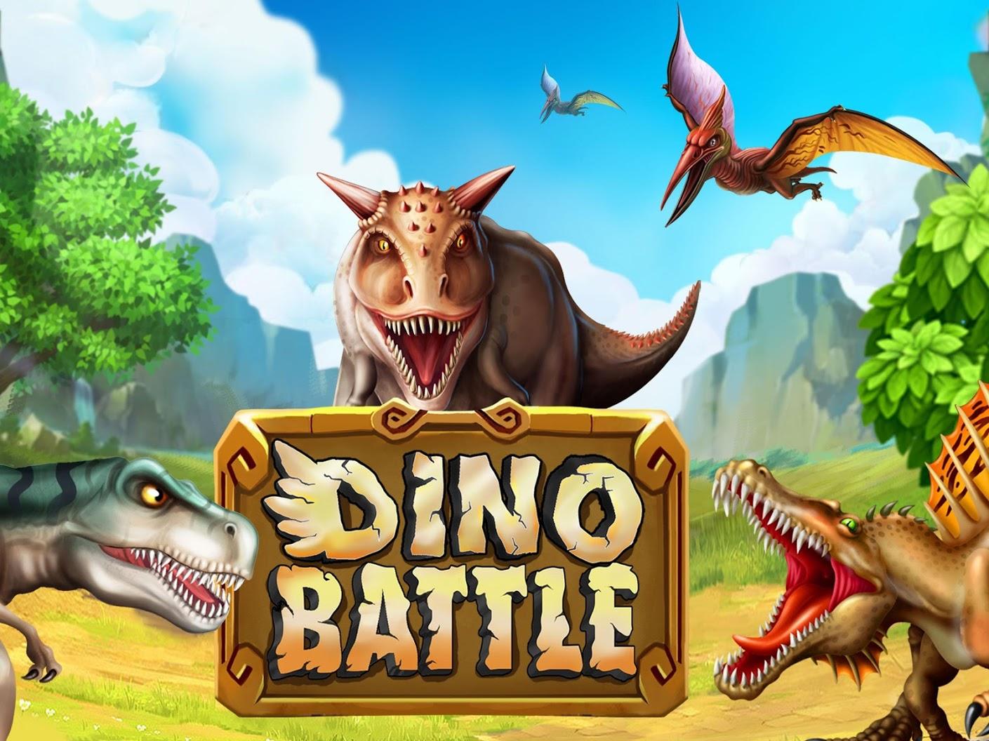 دانلود Dino Battle 12.19 – بازی مدیریتی نبرد دایناسورهااندروید